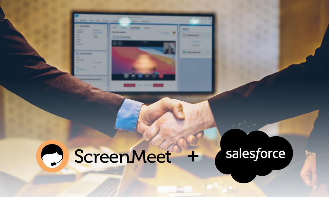 Salesforce invests in ScreeMeet in Series B Funding
