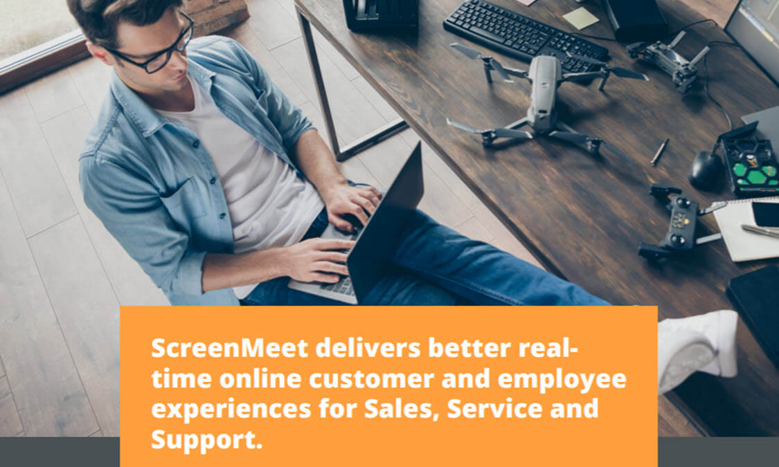 Collaborate seamlessly, in-platform, with ScreenMeet