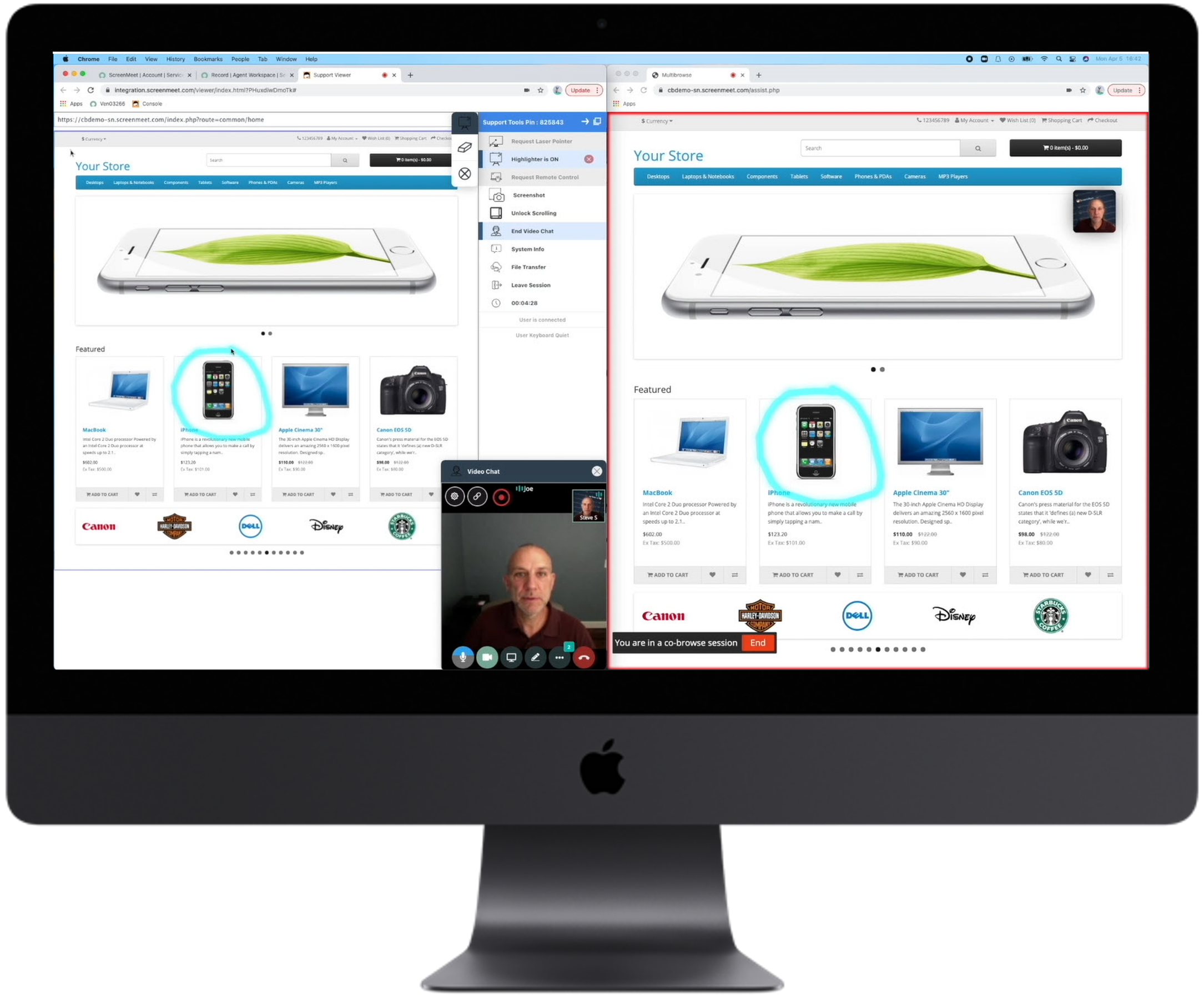 ScreenMeet Solutions for Sales