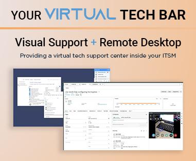 ScreenMeet Virtual Tech Bar